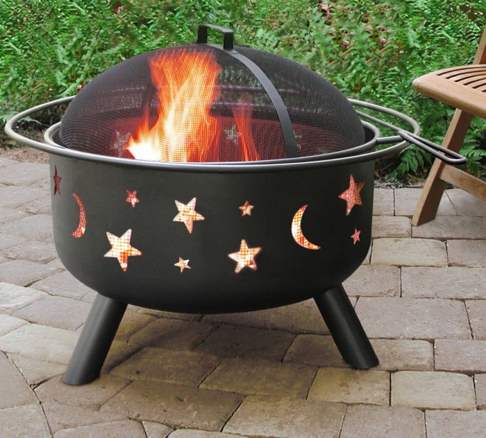 Big Sky Stars and Moons Firepit