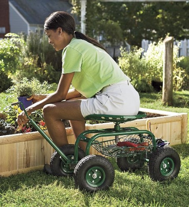 Rolling Scoot N Do Garden Seat Fresh Garden Decor
