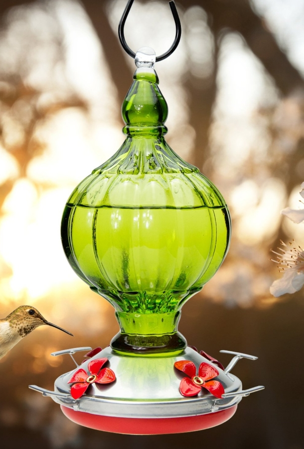 BEAUTIFUL HAND-BLOWN GLASS Feeders