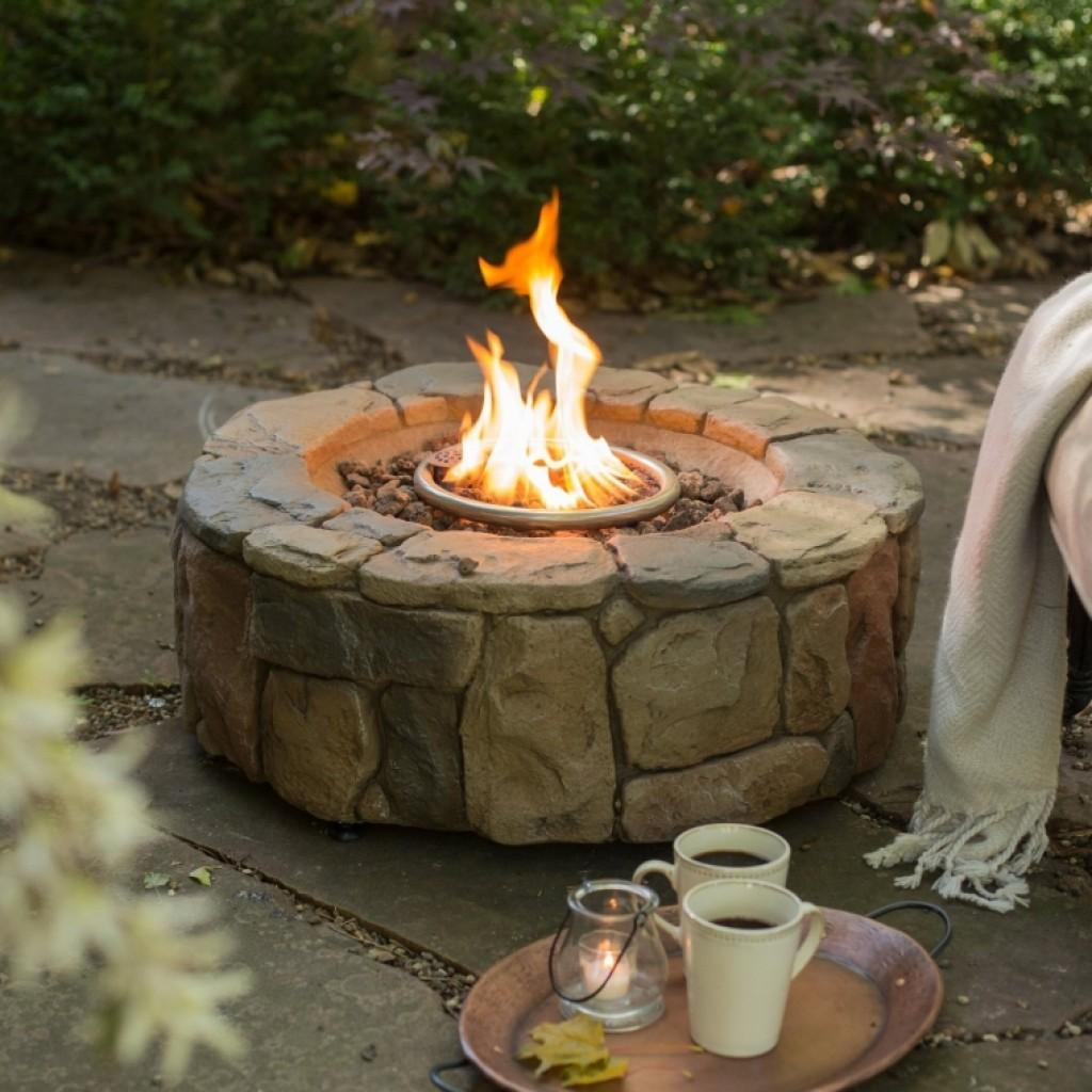 Clarksville Propane Campfire Fire Pit Fresh Garden Decor