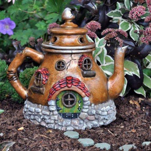 Fairy Garden Tea Pot House