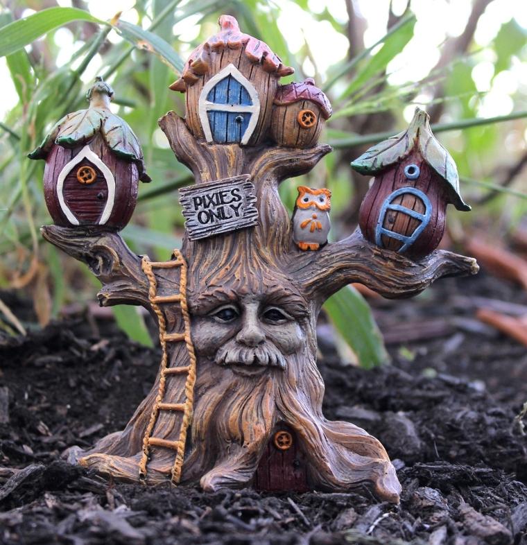Miniature Fairy Garden 5.5 Enchanted Forest Pixie Tree House