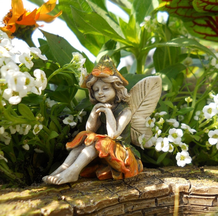 Miniature Garden Fairy Kelly