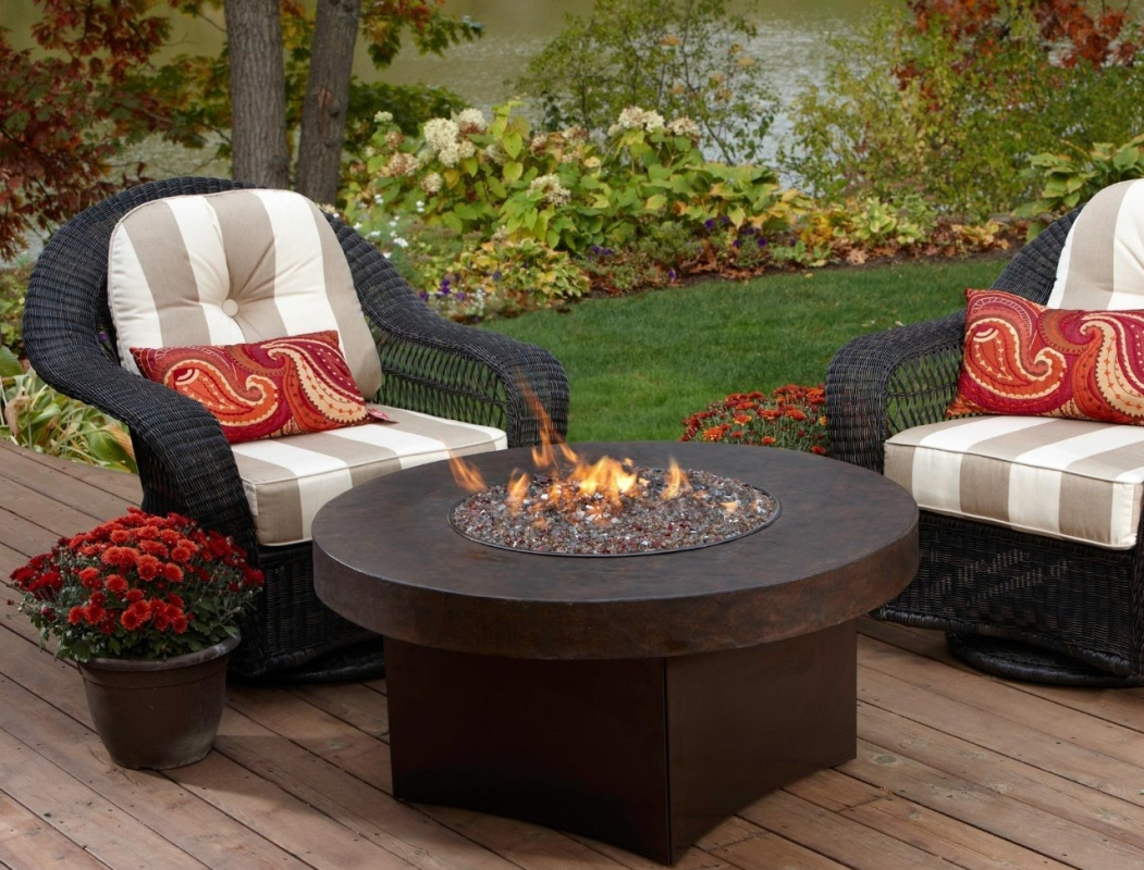 Oriflamme Savanna Stone Gas Fire Pit Table Fresh Garden