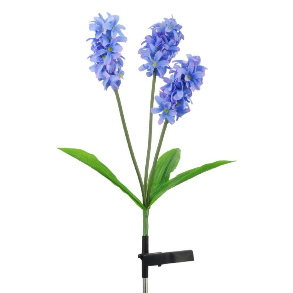 Solar Flower Light Hyacinth Flower 3led for Garden