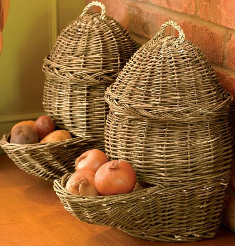 Potato and Onion Baskets