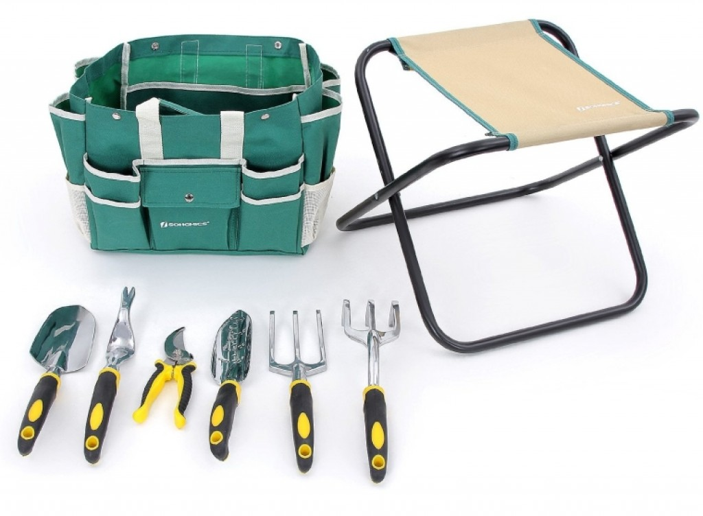 8 piece garden tool set fresh garden decor for Top gardening tools 2016