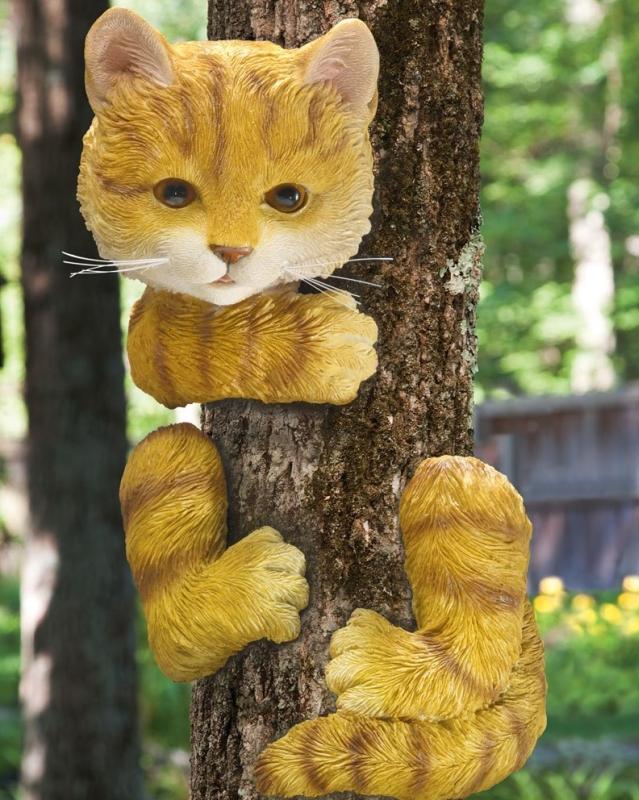 Kitty Up A Tree Hugger