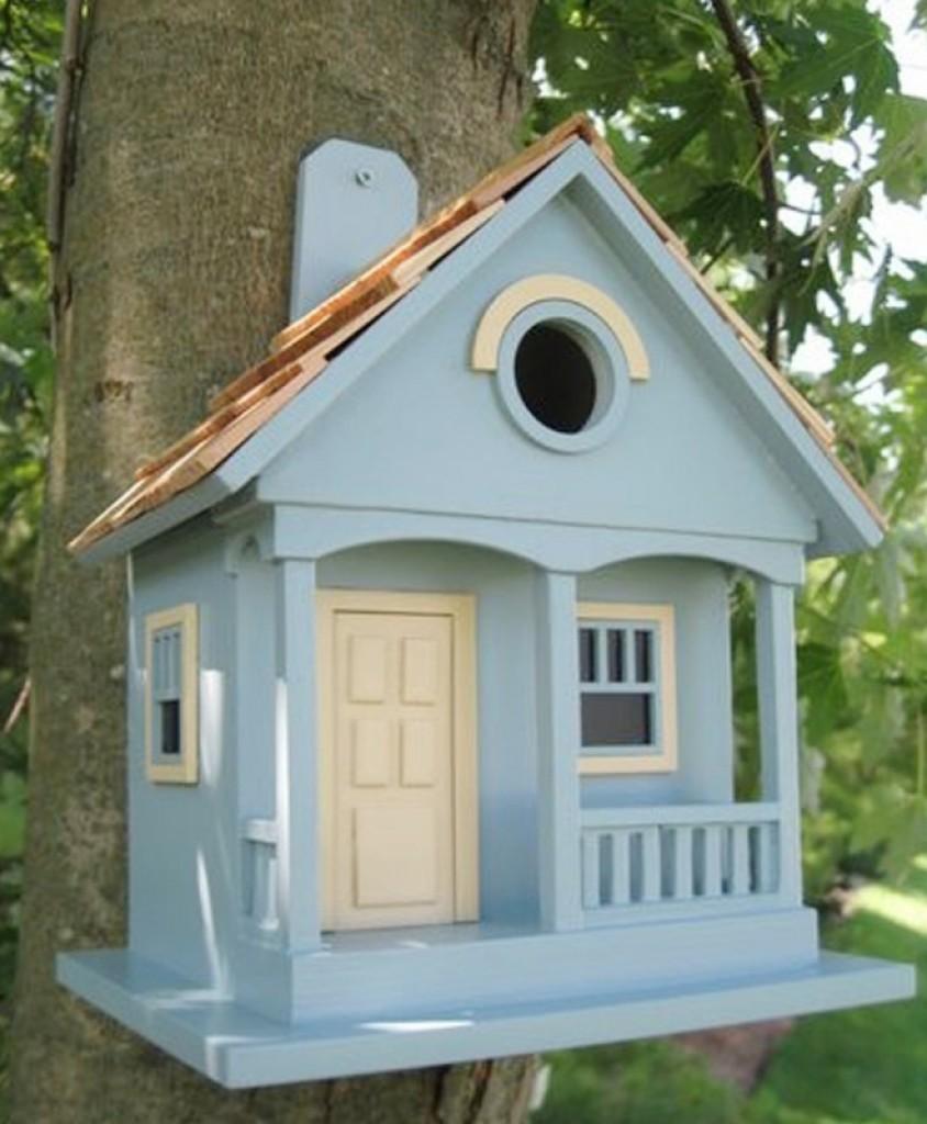 Bazaar Home Decorating: Home Bazaar Nantucket Cottage Birdhouse
