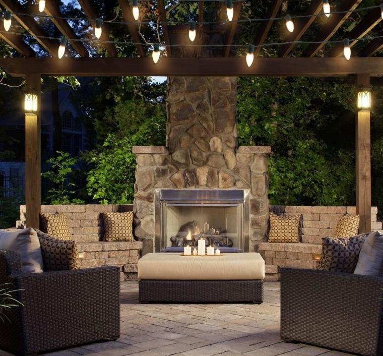outdoor string lights fresh garden decor