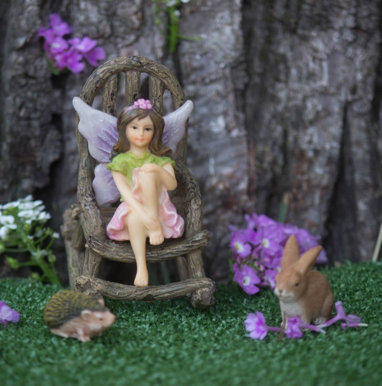 Miniature Garden Fairy Willow Set