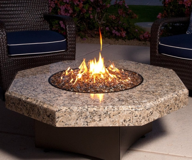 Oriflamme Gas Fire Table
