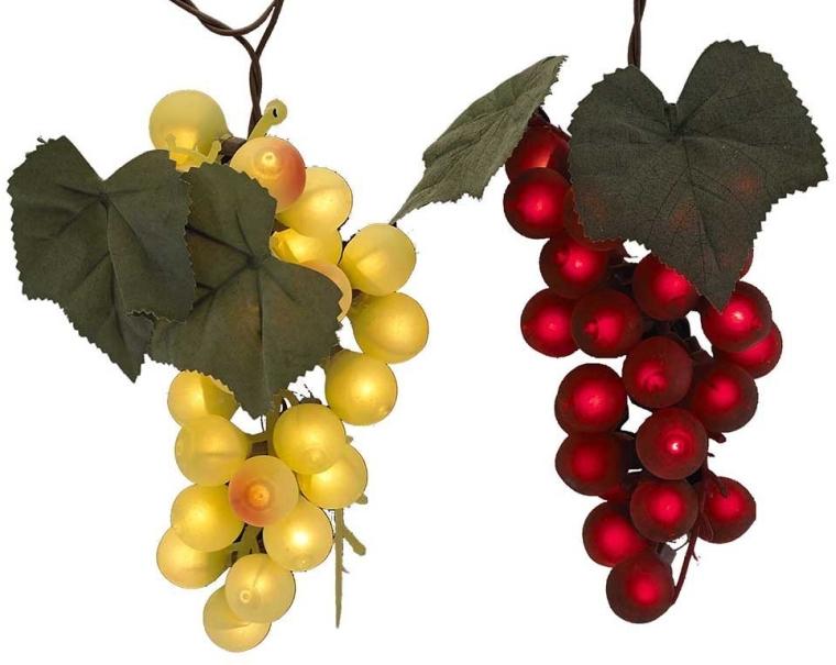 100-Light Grape Cluster Light Set