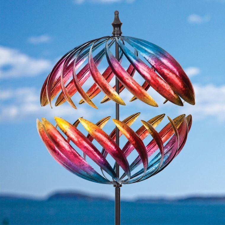 Magnificent Jupiter Two-Way Giant 22 Inch Diameter Wind Spinner