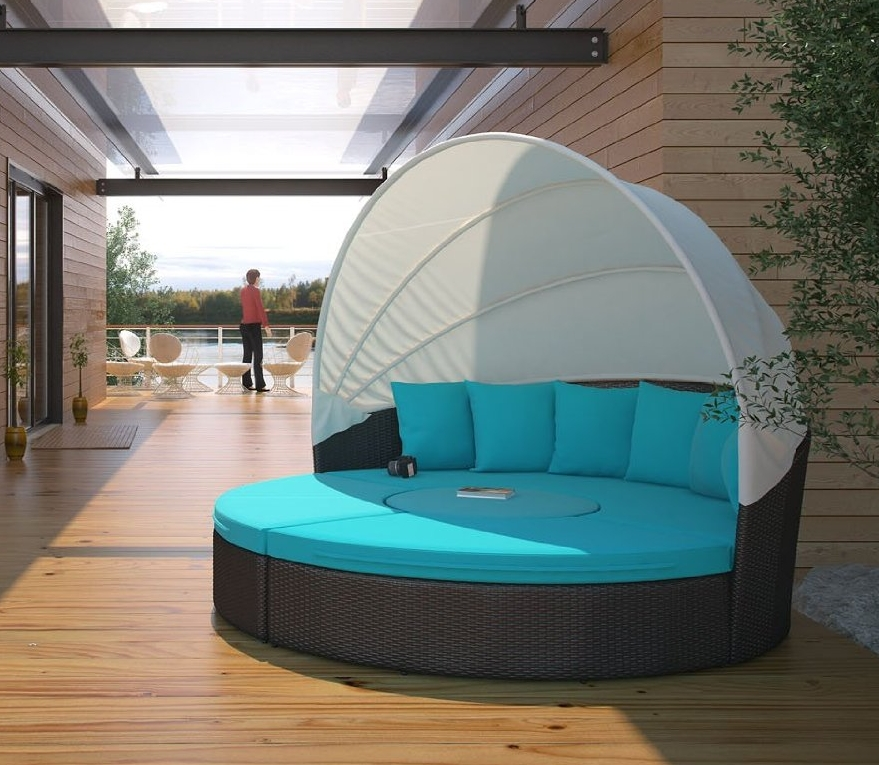 outdoor daybed with canopy circular outdoor wicker rattan patio daybed with canopy 31333
