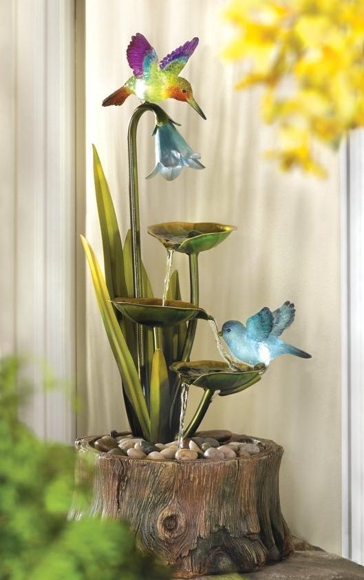 Haven home garden decor water fountain fresh garden decor for Haven home and garden design