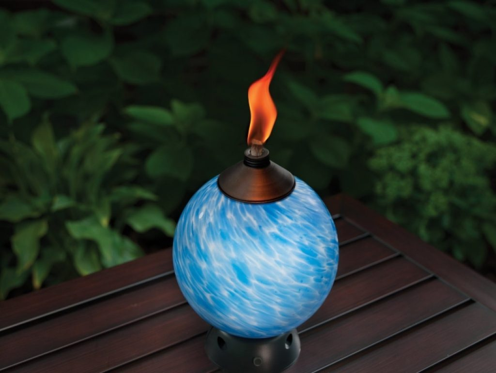 Lamplight Glowing Led And Flame Table Torch Fresh Garden