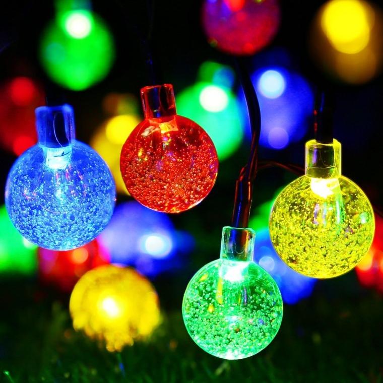 Solar Powered Outdoor Christmas Tree
