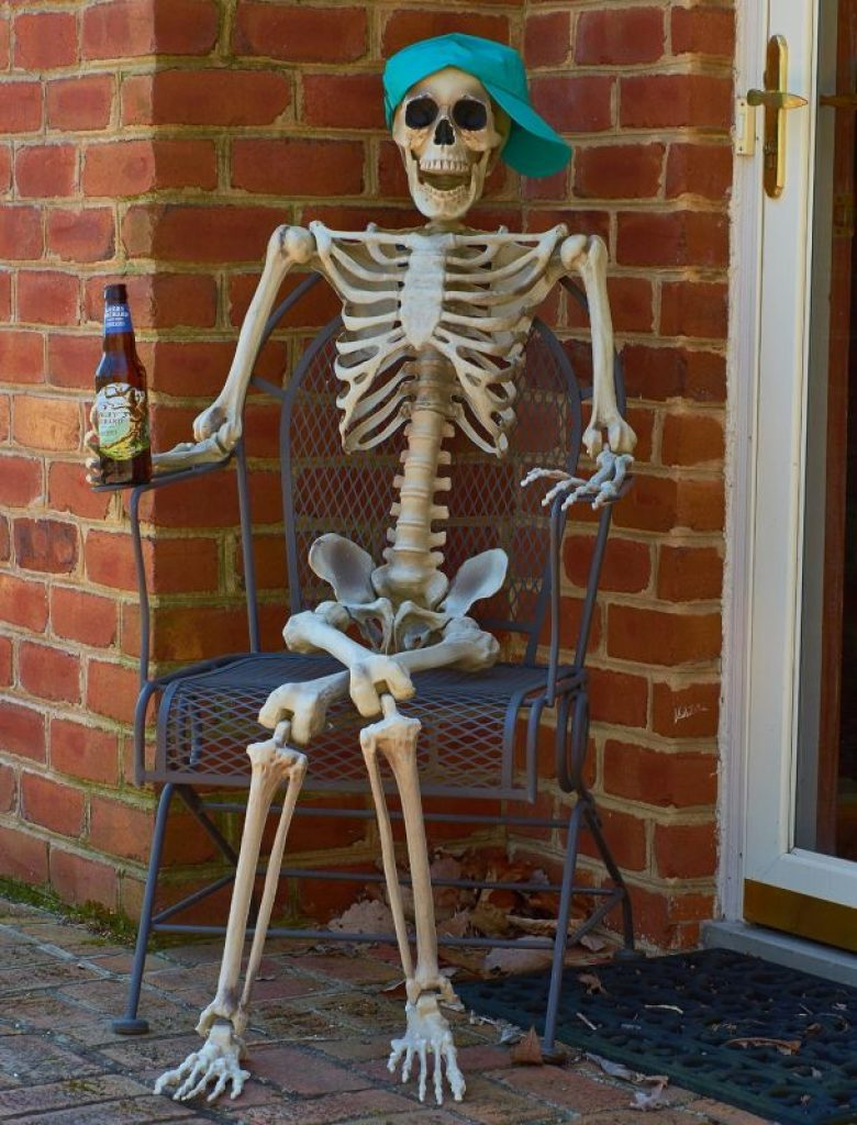 Full Body Halloween Skeleton For Best Decoration