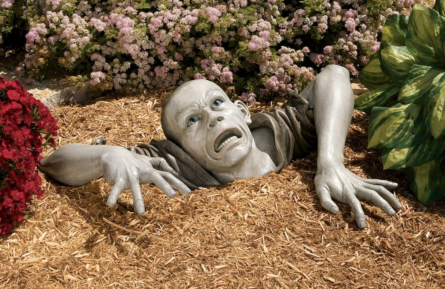 The Zombie of Montclaire Moors Halloween Statue