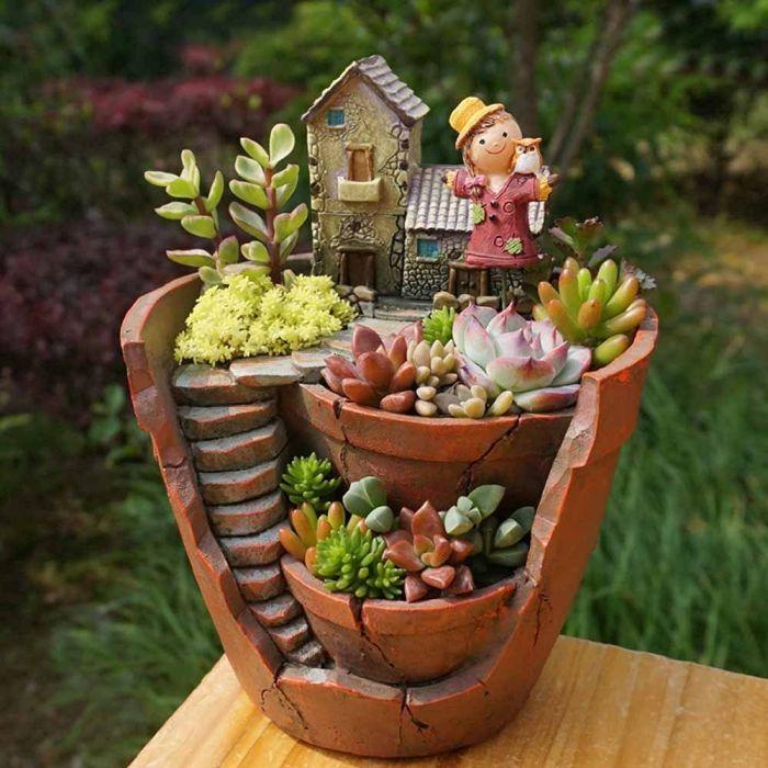 Decorative Flower Pots And Planters : Plants pot fresh garden decor