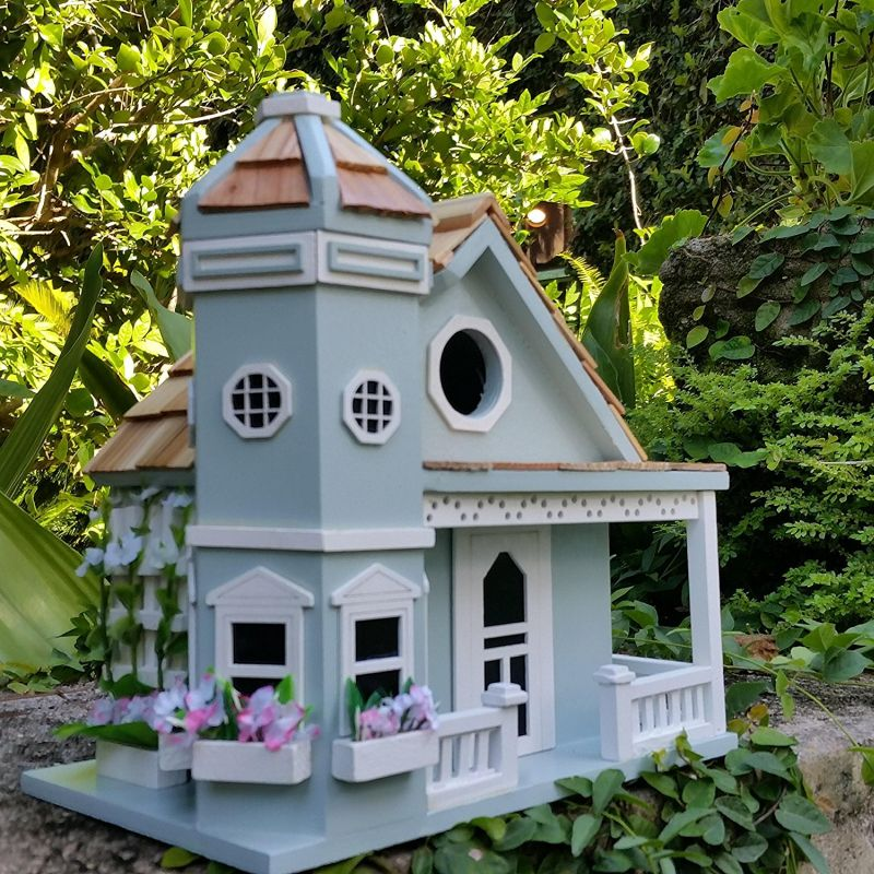 Charming Wood Birdhouse