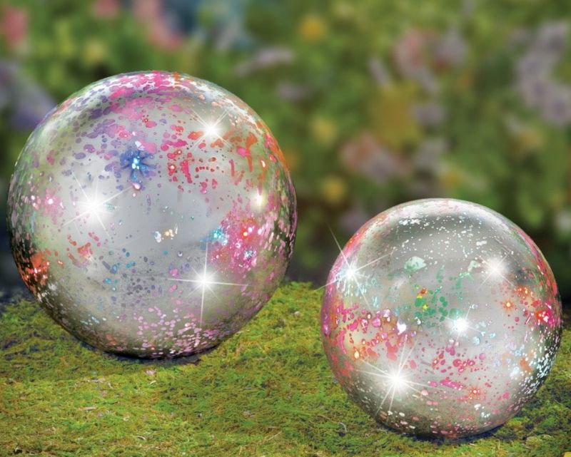 Color Changing Twinkling Glass Balls