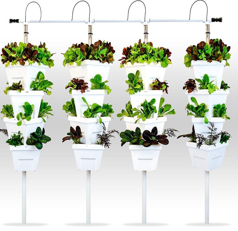 Vertical Hydroponic DIY 4 Tower Garden System | Fresh ...