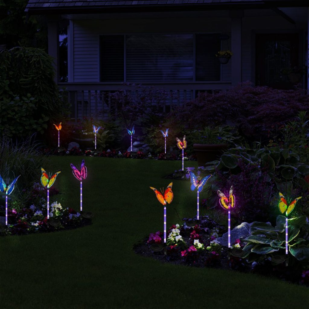 Solar powered lights fresh garden decor - Decorative garden lights solar powered ...