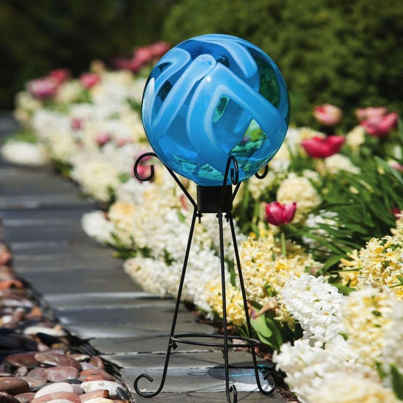 Globe Glass Gazing Ball Outdoor Decor