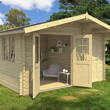 Allwood Estelle Cabin Kit, Garden House