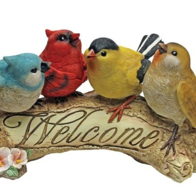Birdy Welcome Statue