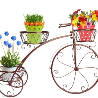 Bronze Vintage Parisian Style Tricycle