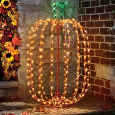 The 42″ Pumpkin Light Sculpture