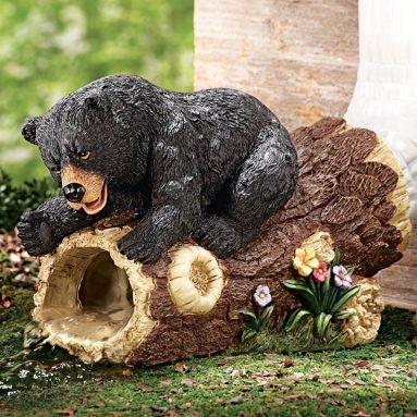 Curious Bear Decorative Downspout Extension