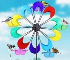 Exhart Spinning Ferris Wheel Bird Feeder Moves