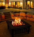 Fire Pit Table Outdoor