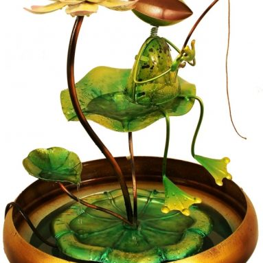 Fishing Frog Water Fountain