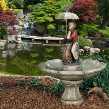 Golfer Fountain