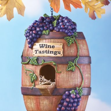 Grapevine Vineyard Hanging Birdhouse