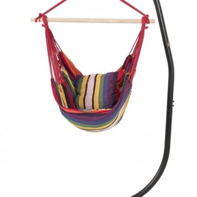 Hammock Chair with C Frame Stand