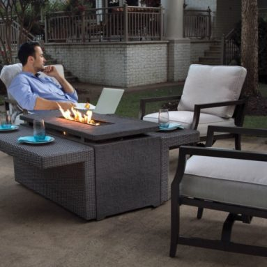 Maddox 5-Piece Outdoor Firepit Set