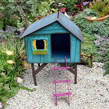 Miniature Fairy Garden Folksy Tree House