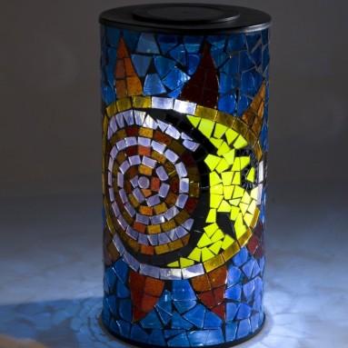 Mosaic Solar Lantern