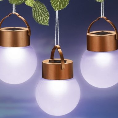 Outdoor Hanging Solar LED Lights
