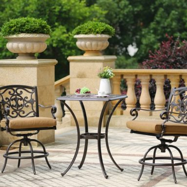 Outdoor Living Patio Bar Set
