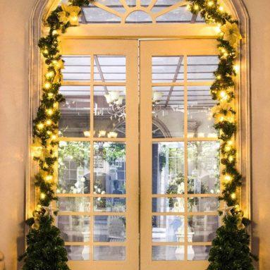 Pre Lit Christmas Garland with Lights