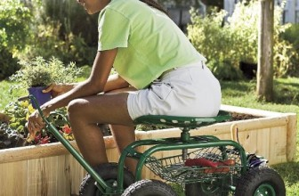 Rolling Scoot-N-Do Garden Seat