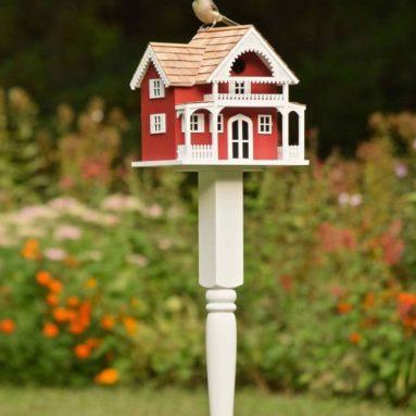 Shelter Island Birdhouse and Pole
