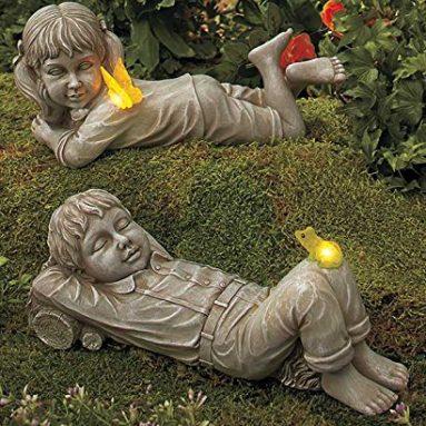 Solar Fairy Statue